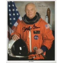 John Glenn Mercury genuine authentic signed autograph image 3