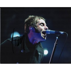 SOLD Liam Gallagher Oasis music genuine signed authentic autograph photo 2