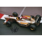 Martin Brundle F1 Jordan genuine signed authentic autograph photo