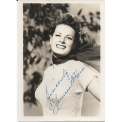 Maureen O'Hara genuine authentic autograph signed photo