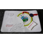 Michael Schumacher F1 genuine authentic signed autograph Paddock Club pass