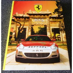 Michael Schumacher Ferrari F1 genuine authentic signed autograph year book.