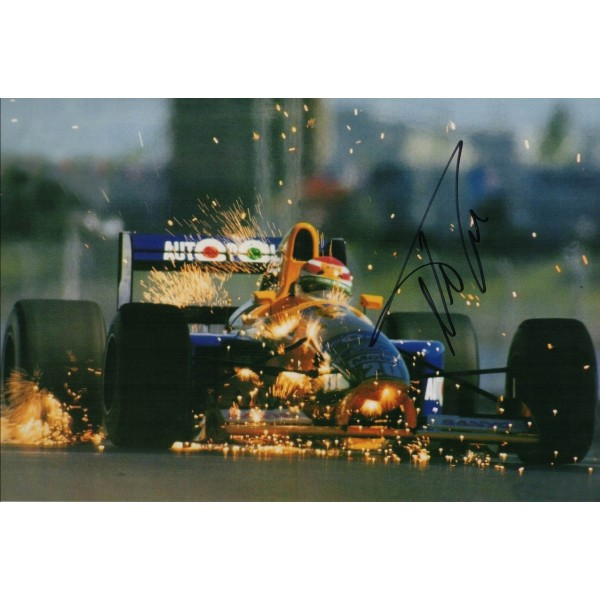 Nelson Piquet F1 genuine signed authentic autograph photo