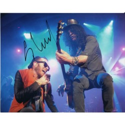 Scott weiland Velvet Revolver genuine signed authentic autograph photo
