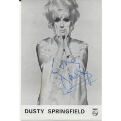SOLD Dusty Springfield music genuine signed authentic autograph photo 2