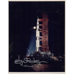 SOLD Eugene Kranz Apollo Gemini etc genuine authentic signed autograph photo 2
