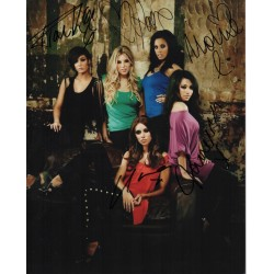 The Saturdays music genuine signed authentic autograph photo