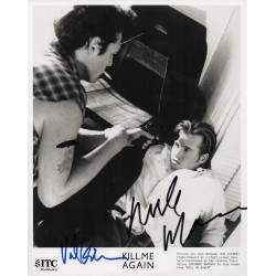 Val Kilmer Michael Madsen genuine signed authentic autograph photo