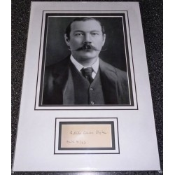 Arthur Conan Doyle Sherlock Holmes genuine authentic autograph signature and photo