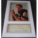 Charlton Heston genuine authentic signed autograph display