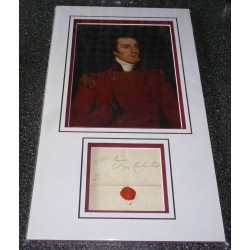Duke of Wellington genuine authentic signed autograph display photo