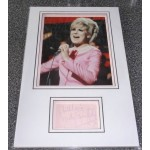 Dusty Springfield genuine authentic signed autograph display