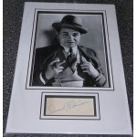 Edward G Robinson genuine authentic signed autograph display