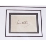 Frederick James Marquis Woolton WW2 genuine authentic signed autograph display