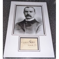 SOLD Frederick Treves Elephant Man genuine authentic signed autograph display