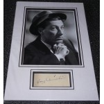Hoagy Carmichael Music genuine authentic signed autograph display