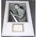 Irving Berlin genuine authentic signed autograph display