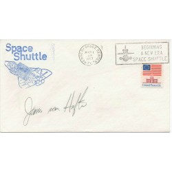 James Van Hoften genuine authentic autograph signature FDC
