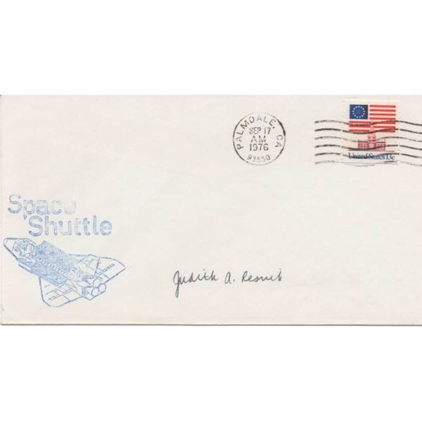 Judith Judy Resnick STS-51genuine authentic autograph signature FDC