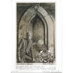 "Peter Blake ""The Grotto at Margate"" limited authentic signed autograph signature print"