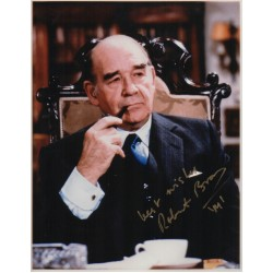 Robert Brown James Bond genuine authentic signed autograph photo