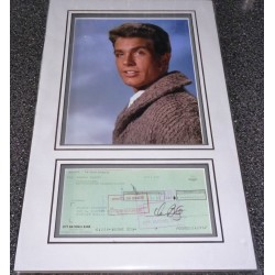 Warren Beatty genuine authentic signed autograph display