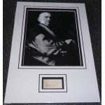 William Gladstone PM genuine authentic signed autograph display