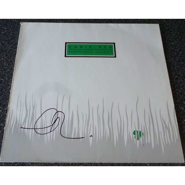 Chris Rea Shamrock Diaries genuine authentic autograph signature signed album