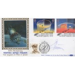 Gherman Titov cosmonaut genuine authentic autograph signature FDC