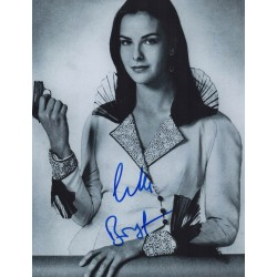 James Bond Carole Bouquet genuine authentic signed autograph photo 4