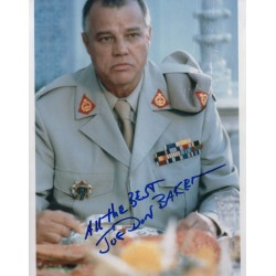James Bond Joe Don Baker genuine signed autograph photo