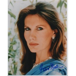 James Bond Maud Adams genuine authentic signed autograph photo