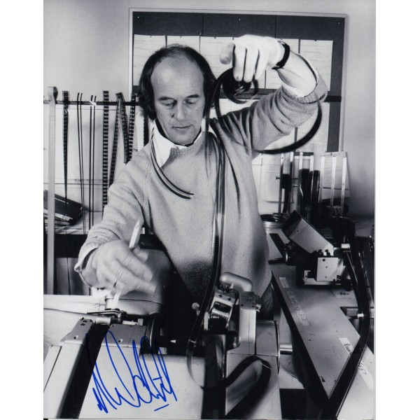James Bond Norman Wanstall authentic signed autograph photo 4
