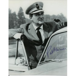 James Bond Patrick Macnee genuine authentic signed autograph photo