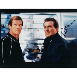 James Bond Patrick Macnee genuine signed authentic signature photo