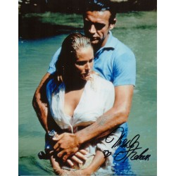 James Bond Ursula Andress signed autograph photo 6