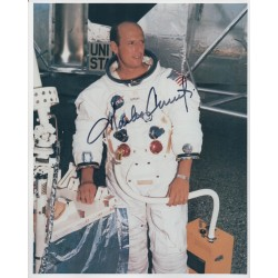 Charles Pete Conrad Apollo 12 authentic genuine signed autograph photo