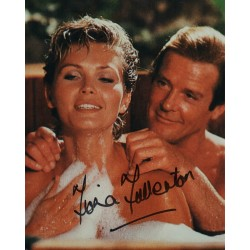 Fiona Fullerton  James Bond genuine signed autograph photo 4