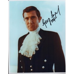 George Lazenby James Bond genuine authentic autograph signed photo