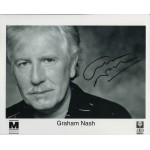 Graham Nash Crosby Stills etc genuine authentic autograph signed photo