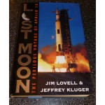 Jim James Lovell Apollo 13 Lost Moon authentic genuine signed autograph book