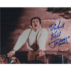 Richard Kiel Jaws James Bond genuine authentic autograph signed photo 5