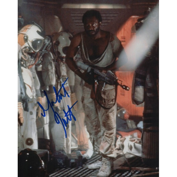 Yaphet Kotto Alien genuine signed autograph photo