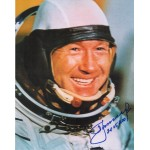 Alexei Leonov Cosmonaut Vostok space genuine authentic autograph signed image