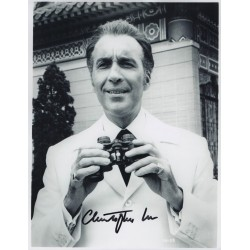 Christopher Lee Scaramanga  genuine authentic autograph signed photo