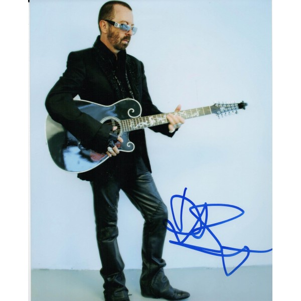 Dave Stewart Eurythmics genuine authentic autograph signed photo