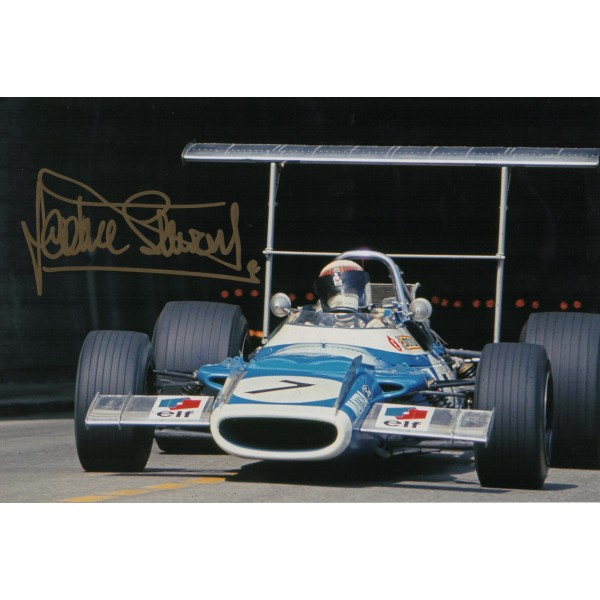 Jackie Stewart F1 world champion genuine authentic autograph signed photo 3