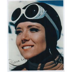 James Bond Diana Rigg genuine authentic autograph signed photo