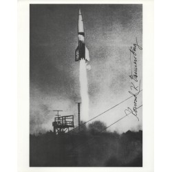 Konrad Von Dannenburg V1 V2 Von Braun genuine authentic autograph signed image