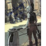 Michonne Bourriague Star Wars genuine authentic autograph signed photo